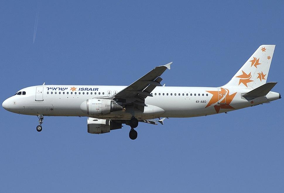 Airbus A320-211, Israir JP6572646