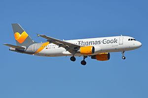 Thomas Cook Airlines Belgium - A Thomas Cook Airlines Belgium Airbus A320-200