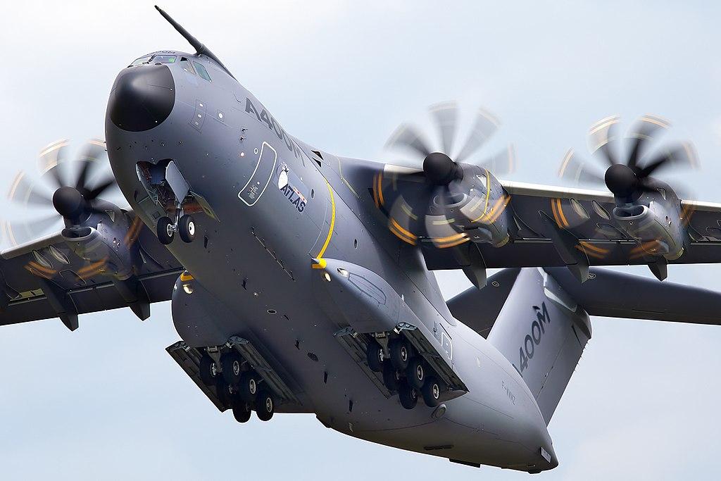 Força Aérea do Reino Unido (RAF) recebe seu primeiro A400M