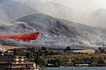Airtanker battling Chelan Butte wildfire (20480259179).jpg