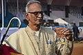 Ajoy Basu With His Dayanxin Quartz Golden Pocket Watch - Kolkata 2018-01-28 0747.JPG