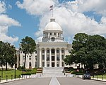 Alabama State Capitol, Montgomery, West view 20160713 1.jpg