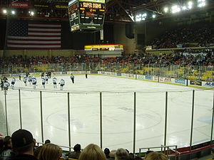 Alaska Aces (ECHL) - Alaska Aces playing on October 27, 2006.