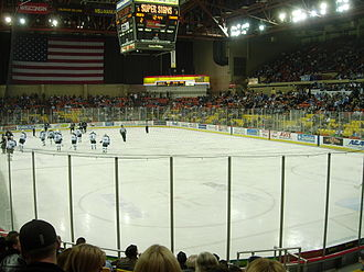 Alaska Aces (ECHL) - Alaska Aces playing on October 27, 2006.