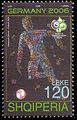 Albania 2006 120 L stamp - FIFA World Cup.jpg