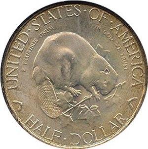 Albany Charter half dollar - Reverse
