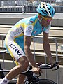 Alberto Contador Tour 2010 prologue training 4.jpg