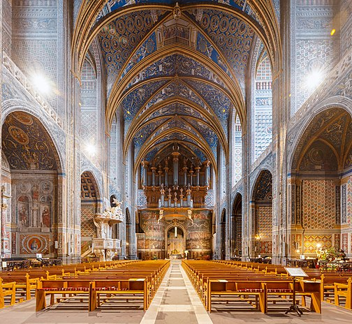 Fichier:Albi Cathedral Nave Wikimedia Commons.jpg