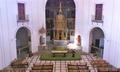 Alcalá de Henares (EST 10-11-2012) Convento de las Bernardas, interior de la capilla.png