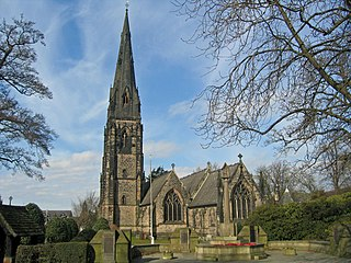 St Philips Church, Alderley Edge Church in Cheshire, England
