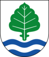 Coat of arms of Ale Municipality