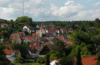 Alfeld, Bavaria - View of Alfeld