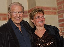 Mann with wife Claudia, December 2010