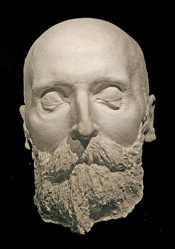 Alfred Nobel Death mask