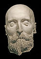 Alfred Nobel Death mask.jpg