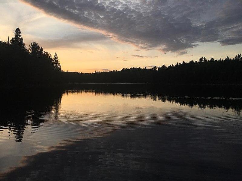 File:Algonquin Park Sunset.jpg
