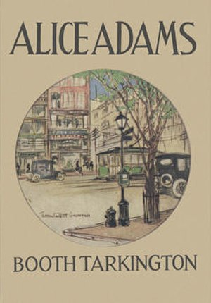 Alice Adams (novel) - First edition (1921)