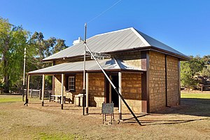 History of telegraphy in Australia - Alice Springs Telegraph Station