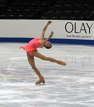 Layback spin - Image: Alissa Czisny Layback