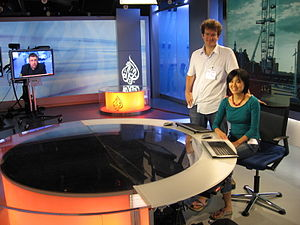 Al Jazeera Media Network - Al Jazeera's London Studio