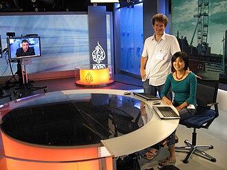 Al Jazeera Media Network - Al Jazeera's London Studio