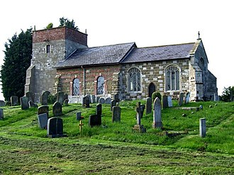 Irby in the Marsh - Image: All Saints, Irby in the Marsh geograph.org.uk 452352