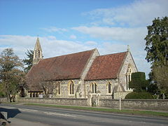 All Saints Church, East Harnham, Salisbury.JPG
