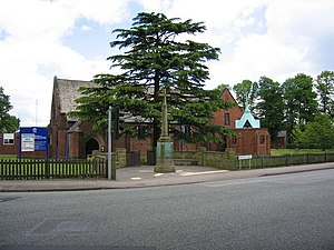 Grade II* listed buildings in the West Midlands - Image: All Saints Parish Church, Four Oaks geograph.org.uk 177376