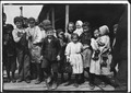 All these children except babies shuck oysters and tend babies at the Pass Packing Co. I saw them all at work there... - NARA - 523405.tif