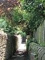 Alleyway east of Elvaston Road (5) - geograph.org.uk - 843443.jpg