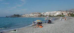 Costa Tropical - Puerta del Mar beach in Almuñécar