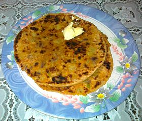 Image illustrative de l'article Aloo paratha
