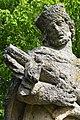 Alsóbogát, Nepomuki Szent János-szobor 2021 12.jpg