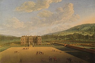 Althorp - Althorp in 1677 by Johannes Vorstermans