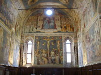 Altichiero, oratorio di san giorgio, parete dell'altare 02.JPG