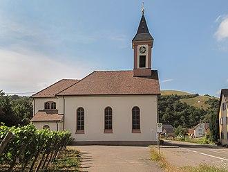 Vogtsburg - Image: Altvogtsburg, die Sankt Romanuskirche foto 1 2013 07 24 16.50