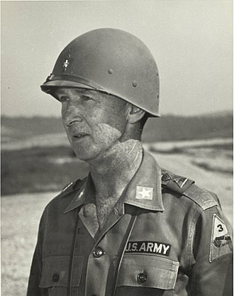 Alva R. Fitch - Brigadier General Alva R. Fitch, Division Artillery Commander of the 3rd Armored Division.