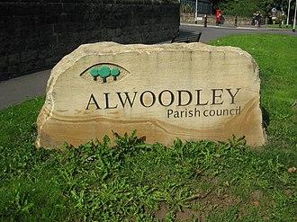 Alwoodley - Image: Alwoodley Parish Boundary