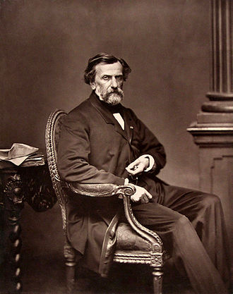 Ambroise Thomas - Thomas circa 1880, taken by Antoine Samuel Adam-Salomon.