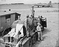 Ambulance waiting for B-17 at Alconbury.jpg
