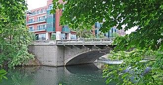 National Register of Historic Places listings in Grand Traverse County, Michigan - Image: American Legion Memorial Bridge Traverse City MI