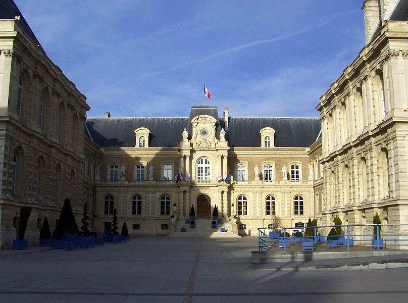 Amiens city hall, Amiens, France