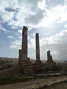 Amman Citadel, Temple of Hercules P1090556.JPG