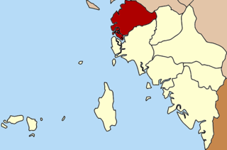 Thung Wa District District in Satun, Thailand