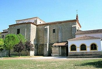 Monasterio y Santuario de Nª Sª de Alconada, en Ampudia