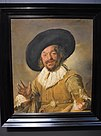 Amsterdam - Rijksmuseum 1885 - The Gallery of Honour (1st Floor) - The Merry Drinker 1628-30 by Frans Hals.jpg