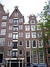 amsterdam lauriergracht 109 and 111 across