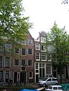 amsterdam lauriergracht 77 and 87 across