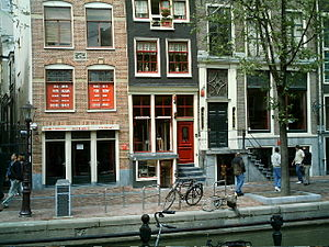 Amsterdam Red Light District 2