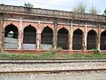 An abandoned train compartment in Nazimabad Railway station, Uttarakhand, India WTK20150912-IMG 0414.jpg